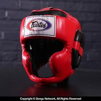 Fairtex HG10 Super Sparring Head Guard Red